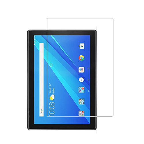 Lenovo Tab 4 10 inch Tablet Screen Protector,9H Hardness Tempered Glass Screen Protector for Lenovo TAB 4 10 with Anti-fingerprint Bubble-Free Crystal Clear