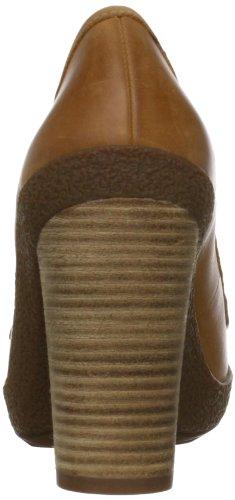 Ecco Nomane Donna Beige Pelle Scarpe tacchi Taglia 40 EU