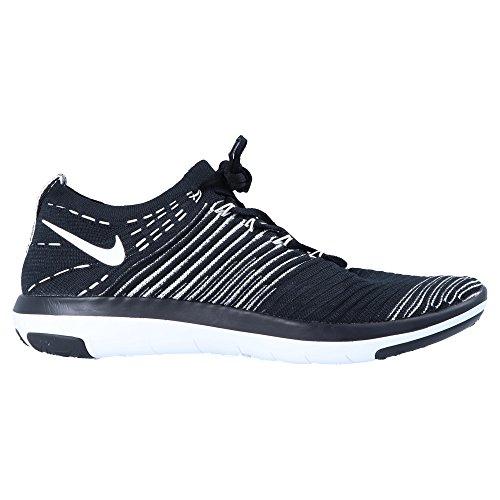 Nike Vrouwen Wmns Vrije Transformatie Flyknit, Zwart / Wit Zwart / Wit
