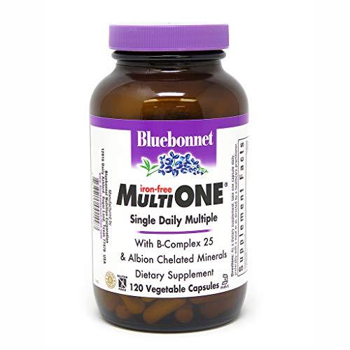 Bluebonnet - Multi One Iron Free - 120 VegCap Kosher,Gluten-Free