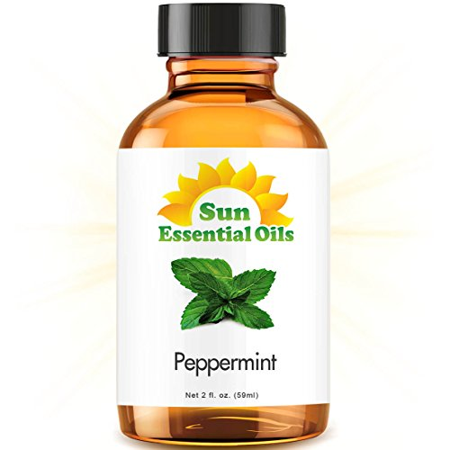 Peppermint (2 fl oz) Best Essential Oil - 2 ounces (59ml)
