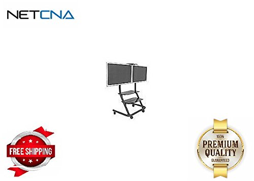 Chief Dual Display Video Conferencing Cart - By NETCNA (Chief Dual Display)