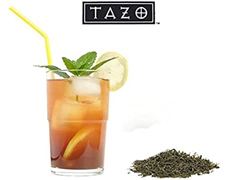 10 pack Tazo Black Iced Tea Premium Brew Loose Ground Leaves- One Pack Makes Three (3) Magnificent Refreshing Brewed Gallons 30 gallons Total Noir Glace Brand Starbucks - 3 Gallon Iced Tea