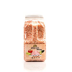 Himalayan Chef Pink Salt, 13.25 Pound With Extra Coarse Grains,Pure and Natural with Minerals and Nutrients for Health Benefits,Add To Your Chart Today