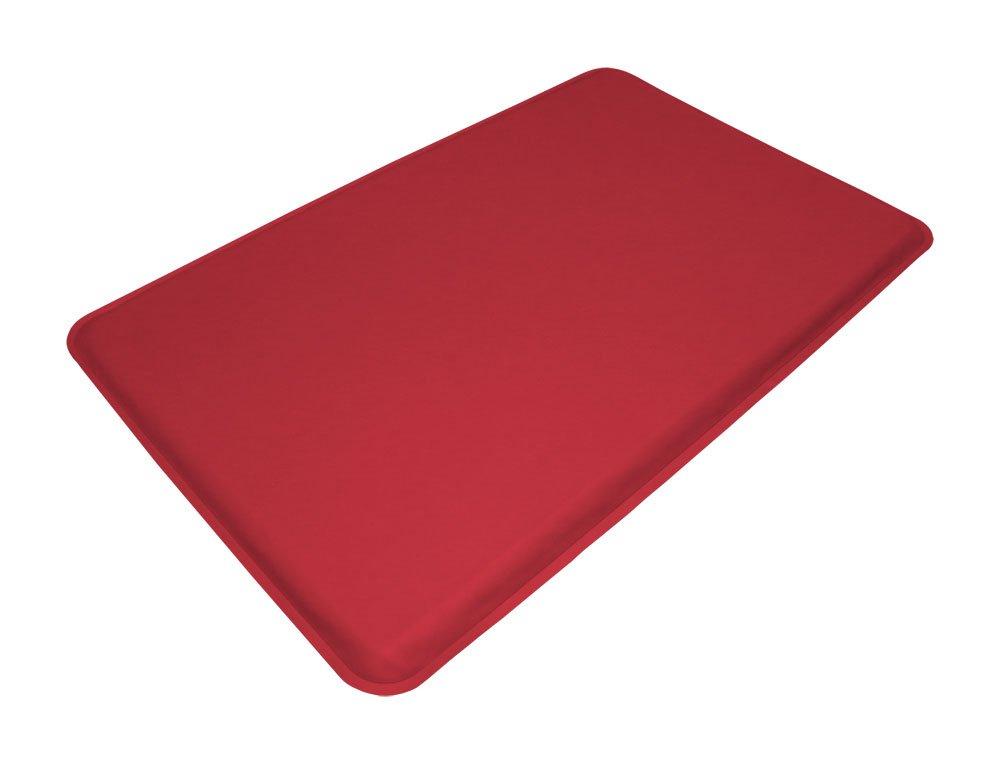 "GelPro Medical Anti-Fatigue Mat: Standing Anti-Fatigue Floor Mat - Non Slip Heavy Duty Professional Mats - Ergonomic Cushioned Comfort Pad - 20"" x 32"" - DND Red"