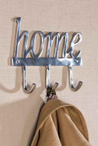 Casablanca Perchero Home Made de Aluminio, Pulido con 3 ...
