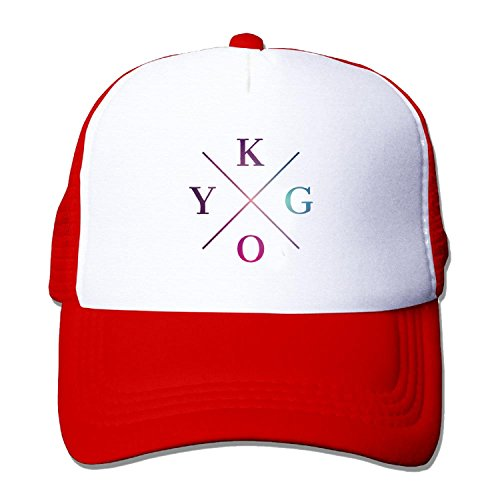 Funny KYGO BLUE VIOLET COLOR Snapback Hat One Size Red