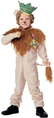 Cowardly Lion Costume - Toddler