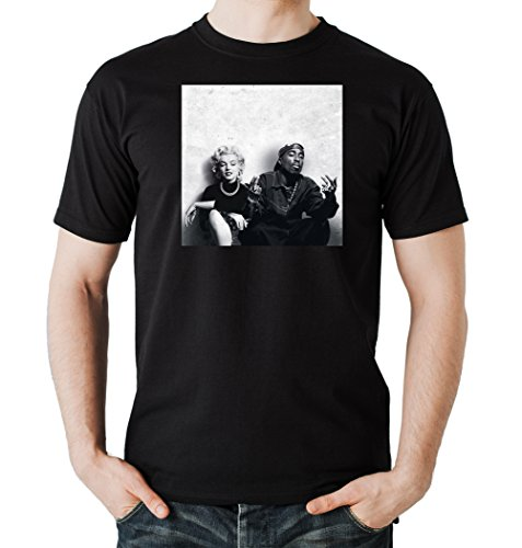 Mary and Pac T-Shirt Black Certified Freak