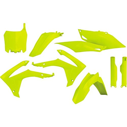 Acerbis Flo Yellow Plastic Kit For Honda CRF 250 14-17, 450 R 13-16 2314414310 (Acerbis Plastic Kits)