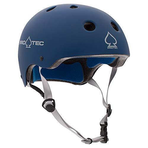 Pro-Tec Casco de Skate Classic Certified Matte Azul: Amazon.es: Deportes y aire libre