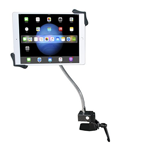 "Price comparison product image CTA Digital PAD-HGT Heavy-Duty Gooseneck Clamp stand for 7-13"" Tablets"
