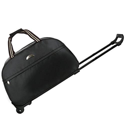 水差し醜い保存Vbigerローリングダッフルトロリーバッグ 車トラベルバッグ 防水ダッフルバッグ 男女兼用