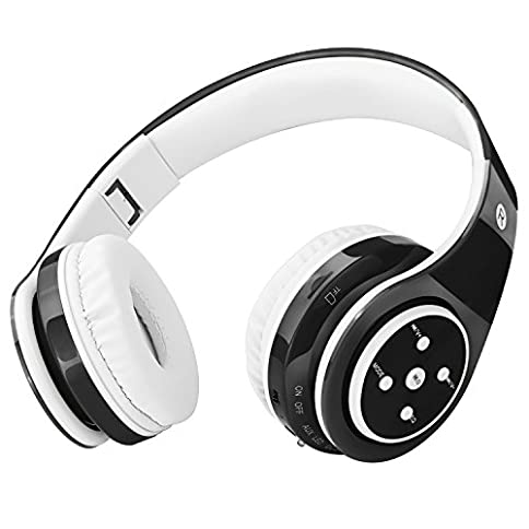2018 New! Bluetooth Headphones for Kids, 85db Volume Limited, up to 6-8 Hours Play, Stereo Sound, SD Card Slot, Over-Ear and Build-in Mic Wireless/Wired Headphones for Boys Girls - 41fKdtbvRdL - 2018 New! Bluetooth Headphones for Kids, 85db Volume Limited, up to 6-8 Hours Play, Stereo Sound, SD Card Slot, Over-Ear and Build-in Mic Wireless/Wired Headphones for Boys Girls