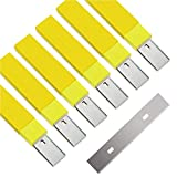 """4"""" Scraper Blades 60 pcs Replacement Stainless"""