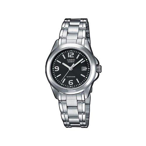 CASIO LTP1259D1AEF - Reloj de Mujer de Cuarzo, Correa de Acero Inoxidable Color