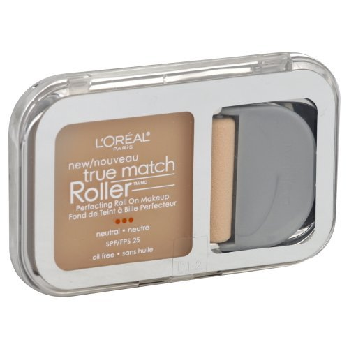 L'Oreal Paris True Match Roller, N1-2 Soft Ivory/Classic Ivory, 0.30 Ounce Classic Ivory Loreal True Match