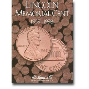 - Harris Lincoln Cents 1959-1998 Coin Folder 2675