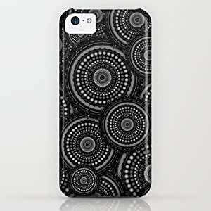 Society6 - Black And White Mandala Pattern iPhone & iPod Case by Hippy Gift Shop