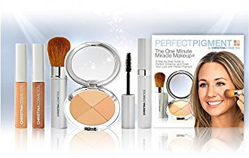 Perfect Pigment Cosmetics - Christina Cosmetics Perfect Pigment 2: FULL SIZE 7 PIECE KIT - For Olive to Tan complexions
