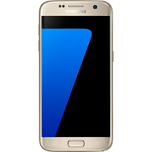 Samsung Galaxy S7 32 GB Unlocked Phone - G930FD Dual SIM - Platinum Gold (International Version - No Warranty) (Gold)