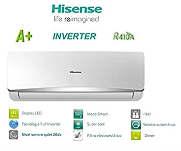 Hisense AS-09UR4SYDDC Aire Acondicionado Compresor: Amazon.es: Electrónica
