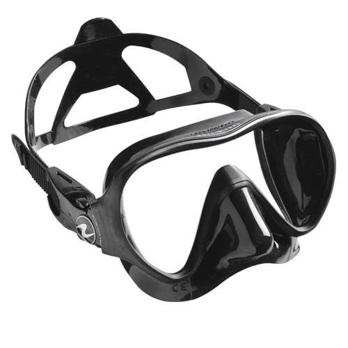 Aqua Lung Linea Single Lens Dive Mask Aqualung Diving Gear