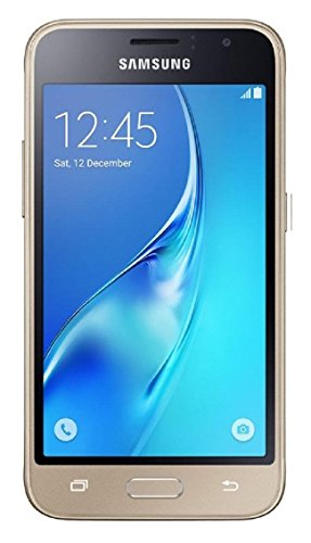 Samsung Galaxy J1 Mini prime 8GB J106B/DS Dual Sim Unlocked Phone – Retail Packaging (Gold) – International Version