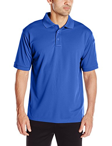 Propper Men's Uniform Polo Short Sleeve, Cobalt, - Mens Uniform Tactical