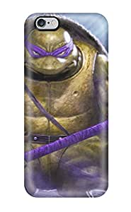 Cute Appearance Cover/tpu VlphYBr1694cUxdA Donatello Tmnt Case For Iphone 6 Plus(3D PC Soft Case)