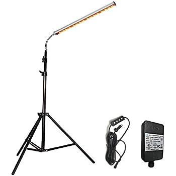 Amazon.com: Lámpara de pie de 28 W con soporte de pie para ...