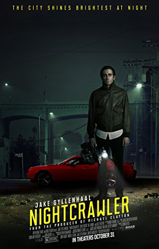 Nightcrawler Movie Poster 2 Sided Original Final Jake Gyllenhaal