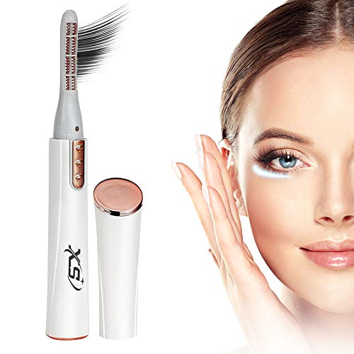Amazon.com : Heated Eyelash Curler, Portable Electric Eyelash Curler, Quick Natural Curling and Long Lasting : Beauty