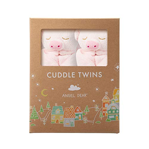 Angel Dear Cuddle Twin Set, Pink Piggy