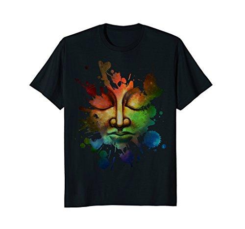 Buddha dimond lotus Zen Yoga T-shirts Gift for Buddhist by Buddha dimond lotus Zen Yoga T-shirts
