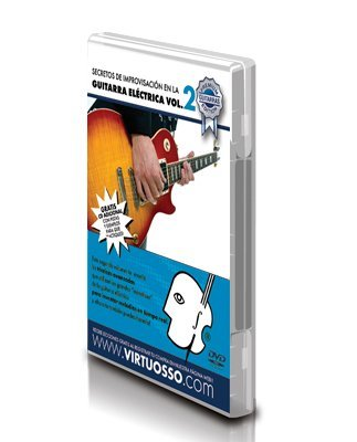 Virtuosso Electric Guitar Improvisation Method Vol.2 (Curso De Improvisación Guitarra Eléctrica Vol.