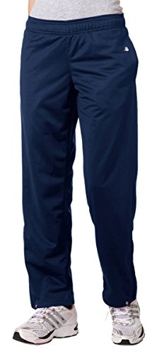 Badger Ladies Brushed Tricot Pant, Navy, X-Large
