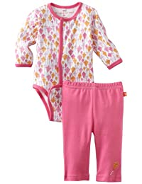 Magnificent Baby Girl's Kites Burrito Onsie and Pants Set, Kites, 6-Months