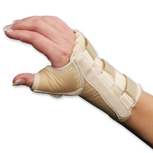 Wrist and Thumb Spica Splint - Size Medium - Right by Core Products