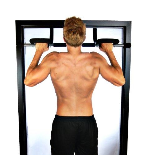 Stamina Doorway Trainer Plus (Black, Chrome)