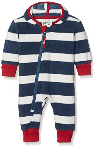 Kite Baby Boys' Stripy Onesie Dressing Gown, Blue (Navy), 12-18 Months
