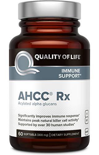 Quality of Life Immune Support AHCC Rx 60 Softgels