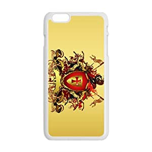 Creative Badge Pattern Custom Protective Hard Phone Cae For Iphone 6 Plus