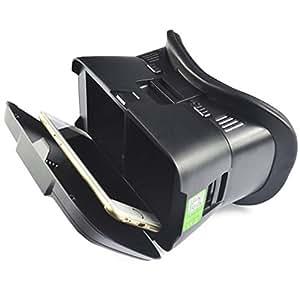 Creazy Z2gafas 3d vr caja realidad virtual Google envolvente para 4–6pulgada Smartphone BK (negro)