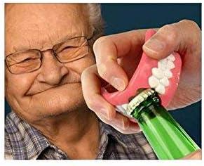 schon deine Z/ähne! MIK Funshopping Flaschen/öffner GEBISS