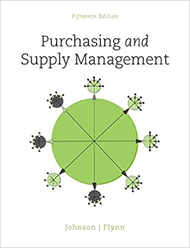 Purchasing and supply management the mcgraw hill series in purchasing and supply management the mcgraw hill series in operations and decision sciences p fraser johnson anna flynn 9780078024092 amazon fandeluxe Gallery