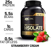 Optimum Nutriton Gold Standard Isolate Strawberry - 5.03lb