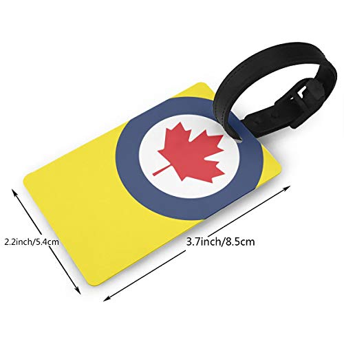 KODW12 Roundel of Canada Luggage Tag Travel Bag Labels Suitcase Bag Tag Name Address Cards by KODW12 (Image #1)