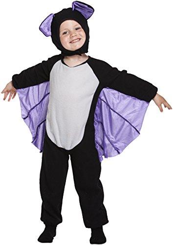 Devil Costume 2-3 Years (Boys Girls Halloween Witch Vampire Devil Spider Fancy Dress Frankenstein Costume (2-3 years, Toddler Bat) by HENDBRANT)
