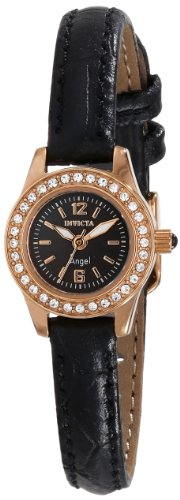Invicta Women's 14692 Angel Analog Display Japanese Quartz Black Watch